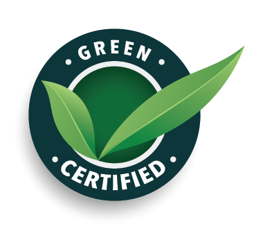 green certified logo