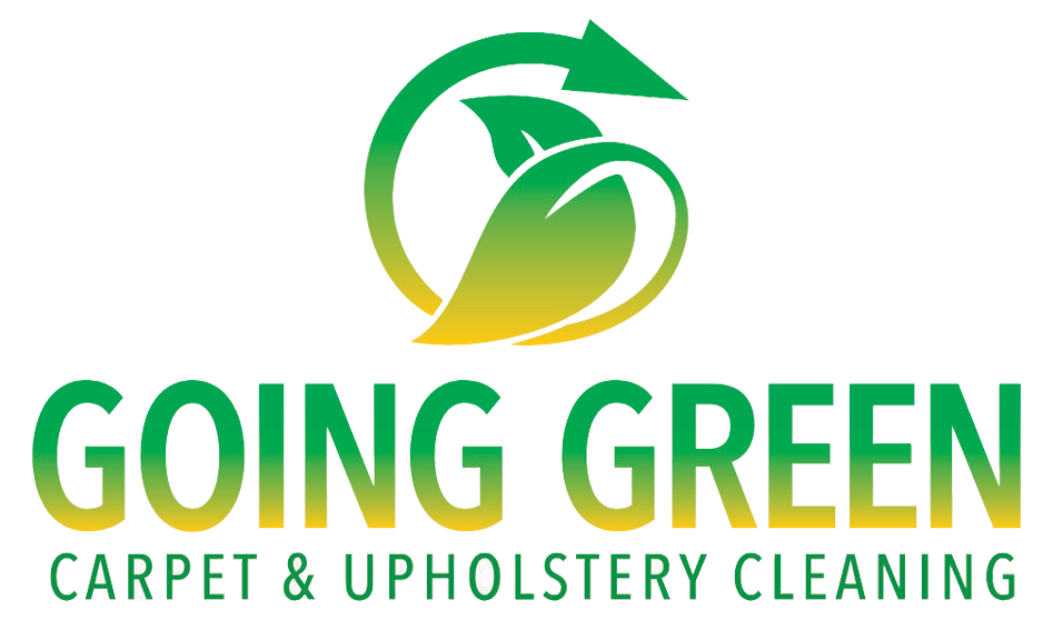 The Going Green Carpet & Upholstery Cleaning logo